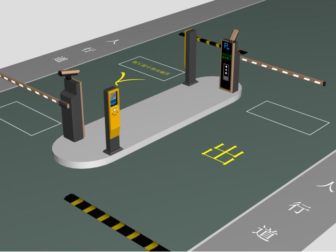 无人值守即可管理停车场靠的是这个系统